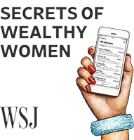 WSJ-Secrets of Wealthy Women logo